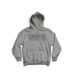 All i want for christmas is WINE Hoodie