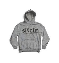 Yes i'm Single Hoodie